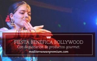 Evento solidario con espectáculo Bollywood